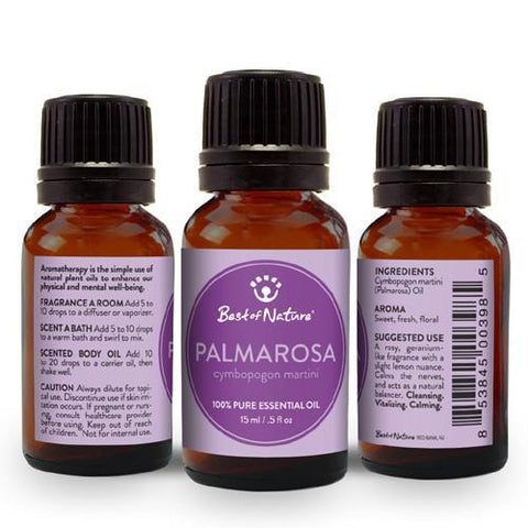 Best of Nature Palmarosa Essential Oil