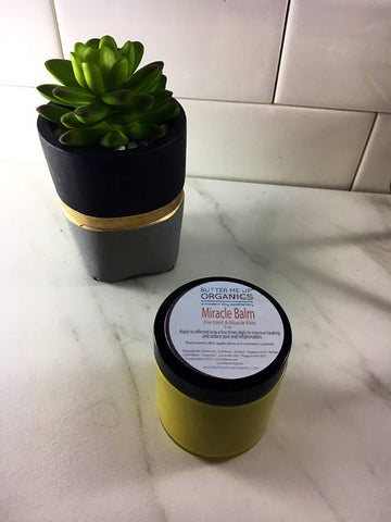 Butter Me Up Organic Herbal pain balm for muscle and joint pain - LaShayAsante Beauty