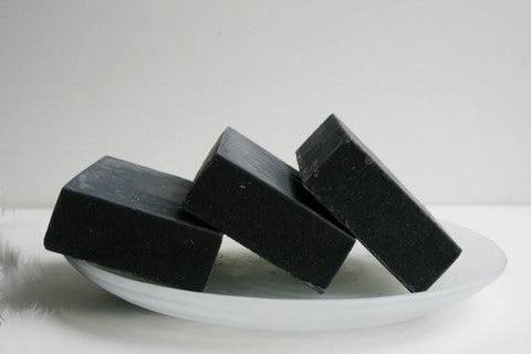 2 Unscented Activated Charcoal Soap