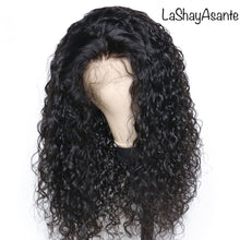 Load image into Gallery viewer, Natural Curly Lace Frontal wig - LaShayAsante Beauty