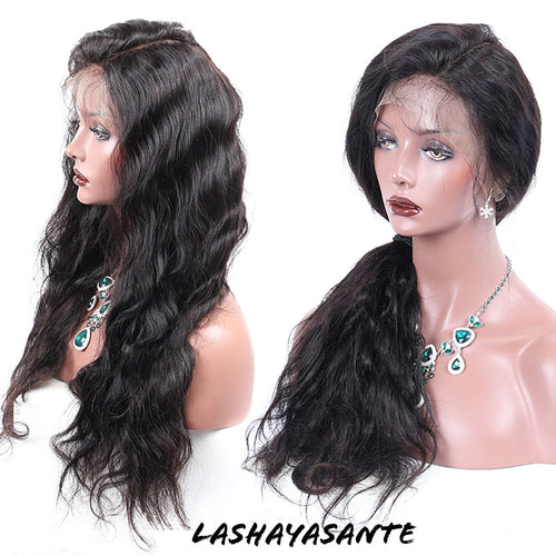 LashayAsante Natural Body Wave wig
