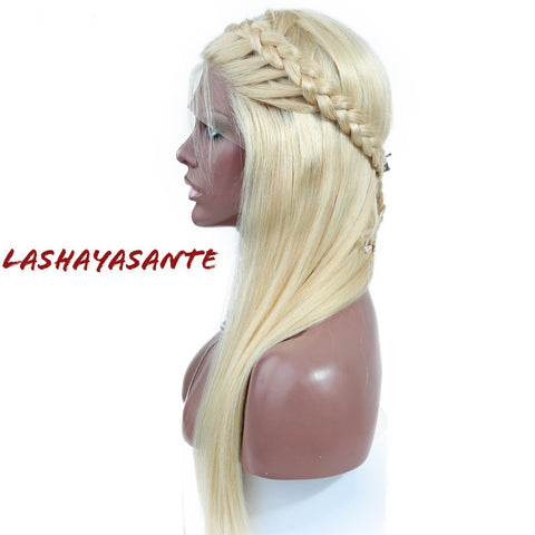 Pre-plucked Silky Straight 613 wig - LaShayAsante Beauty