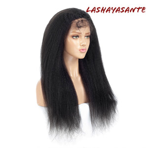 Yaki Straight Full Lace Wig - LaShayAsante Beauty