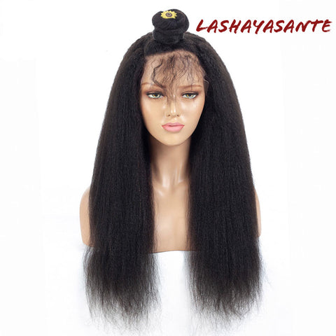 LashayAsante Yaki Straight Full Lace Wig - LaShayAsante Beauty