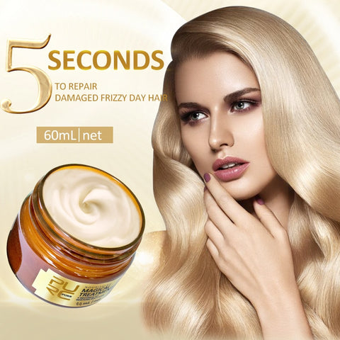 Magical Hair Treatment Mask 5 seconds Repairs Frizzy Hair - LaShayAsante Beauty