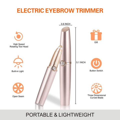USB Charger Electric Eyebrow Trimmer