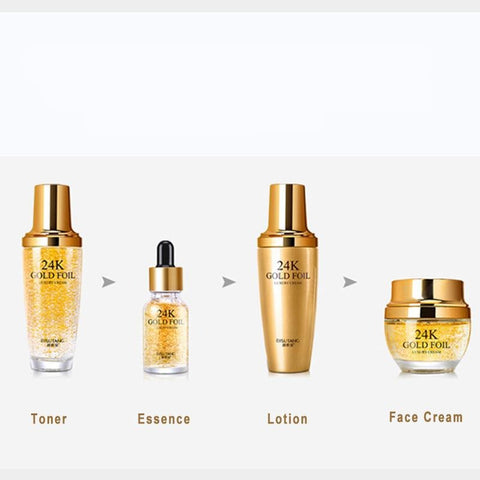 24k Gold Nourishing Moisturizing Skin Care Kit - LaShayAsante Beauty