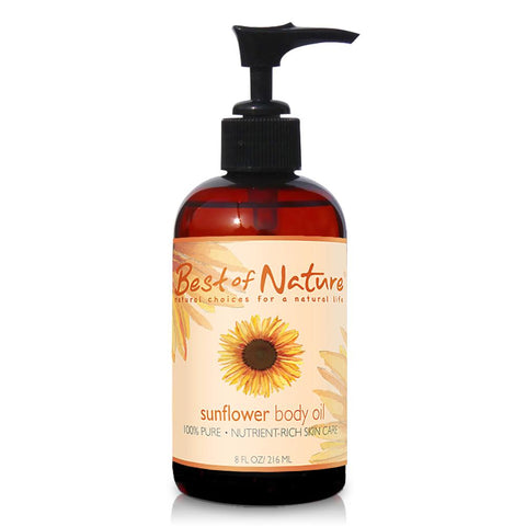 2 Best of Nature Sunflower Body Oil - LaShayAsante Beauty