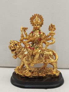 Buy Durga Devi In Gold Colour Finishing (AK110)Online