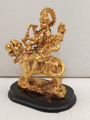 Buy Durga Devi In Gold Colour Finishing (AK110) Online