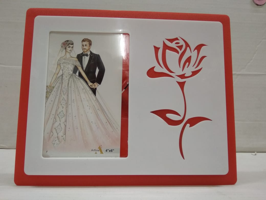 Buy Photo frame With Rose Flower (AK16)Online