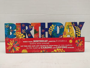 Buy Birthday table top greeting (AP113)Online
