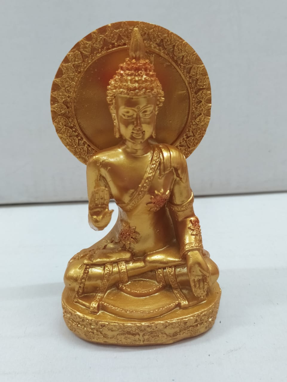 Buy Aashirwad Budha in Golden colour (CT19)Online