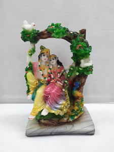 Buy Radhakrishna In Jhula (CT53)Online