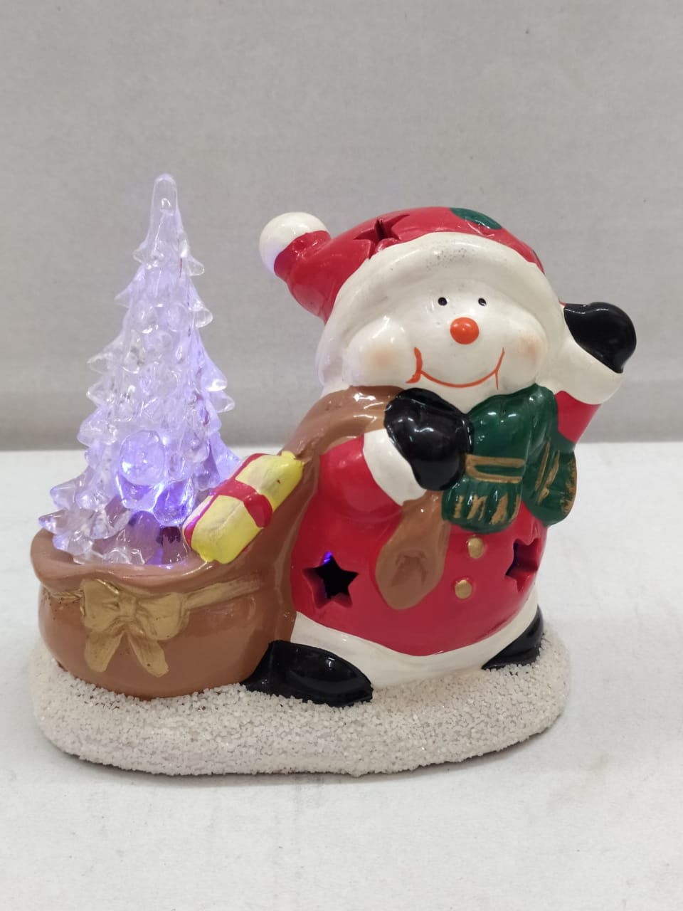 Buy Xmas Santa With LED Tree (DE50)Online
