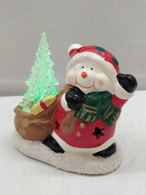 Buy Xmas Santa With LED Tree (DE50) Online