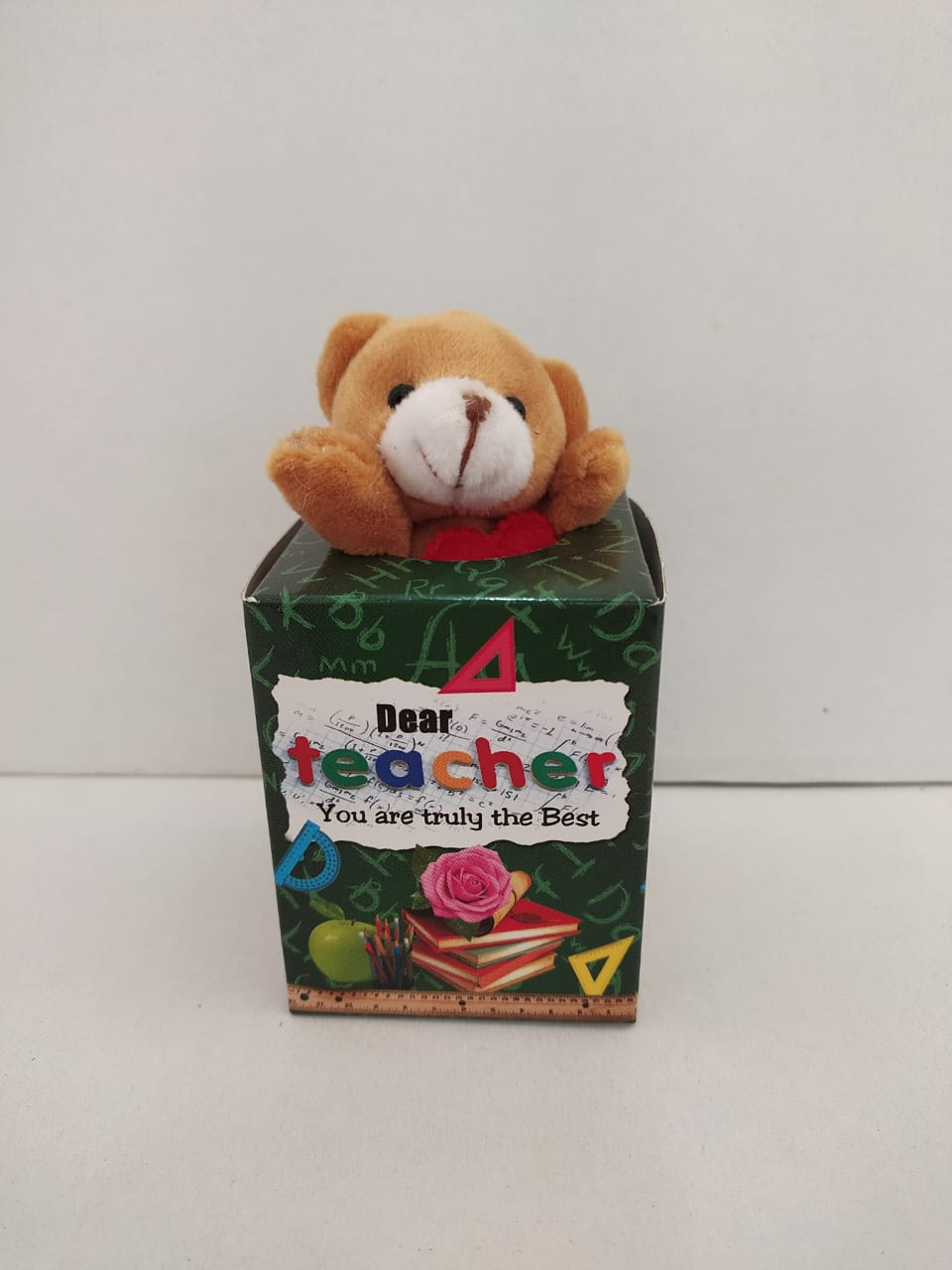 Buy Teachers Day Greeting With Teddy (DLM145) Online