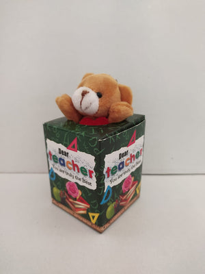 Buy Teachers Day Greeting With Teddy(DLM145) Online