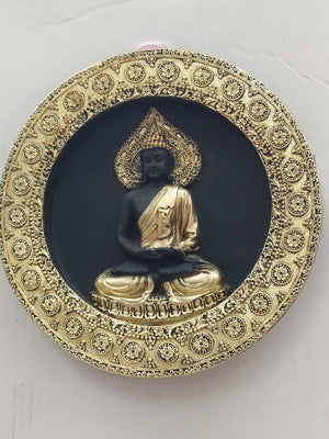 Buy Dhyan Budha In Antique Style Wall Hanging (DC119) Online