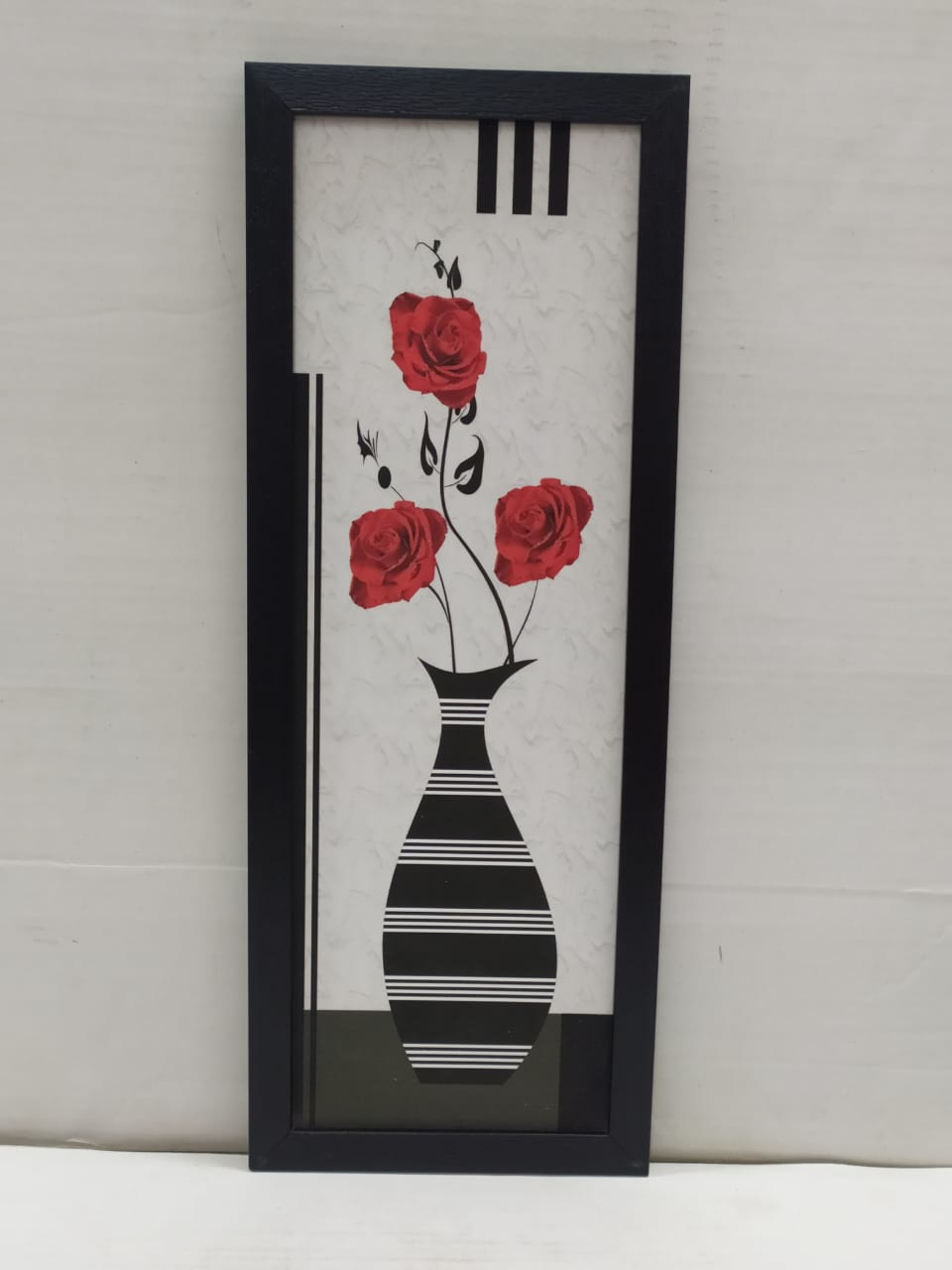 Buy Flower Vase Scenery Picture Wall Frame Without Glass (NY198)Online