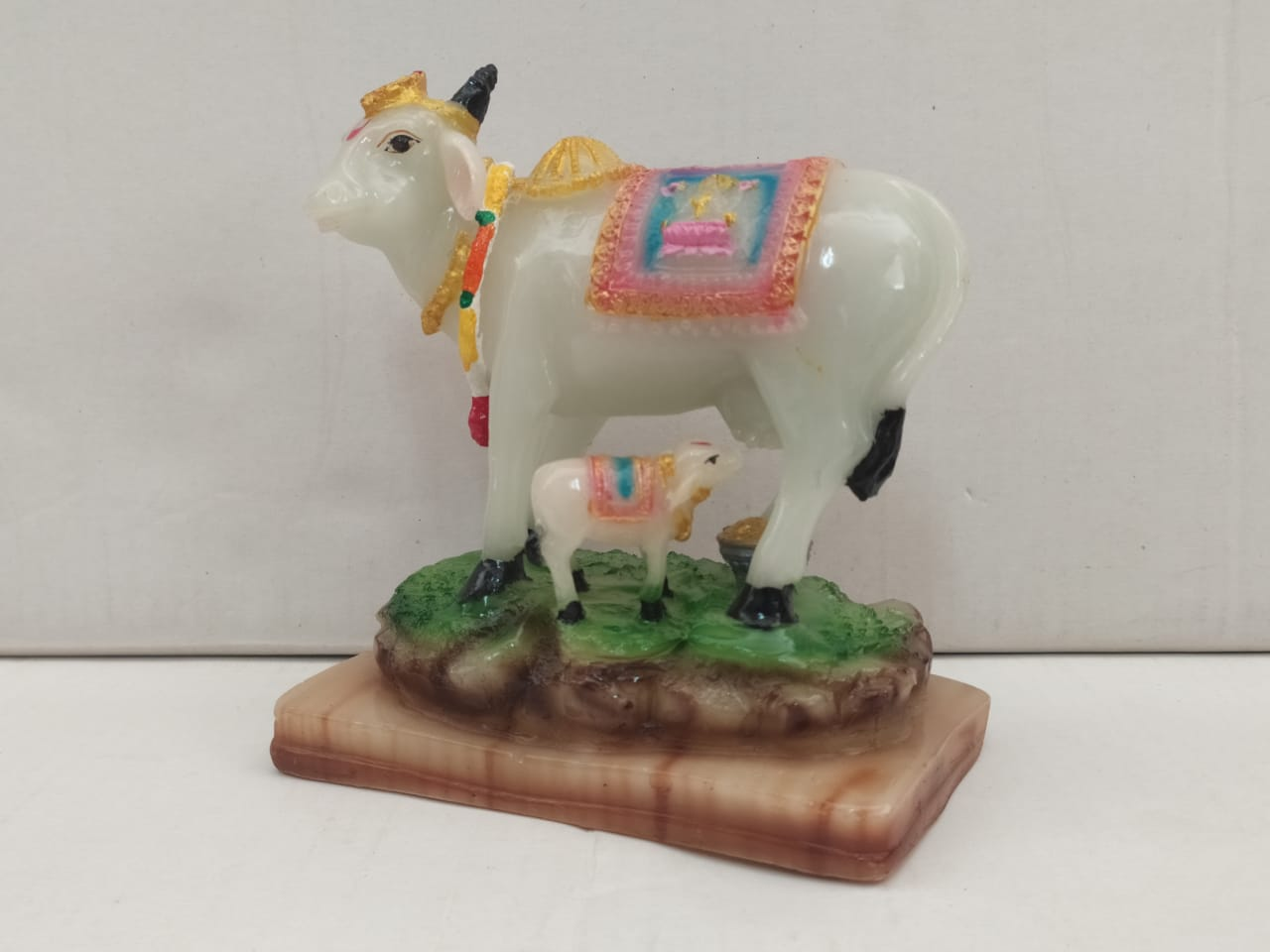 Buy Glow In Dark Kamadhenu Cow & Calf (NY32) Online