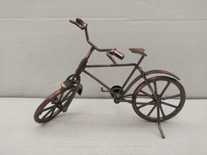 Bicycle Metal Showpiece In Antique Style (SCS34)