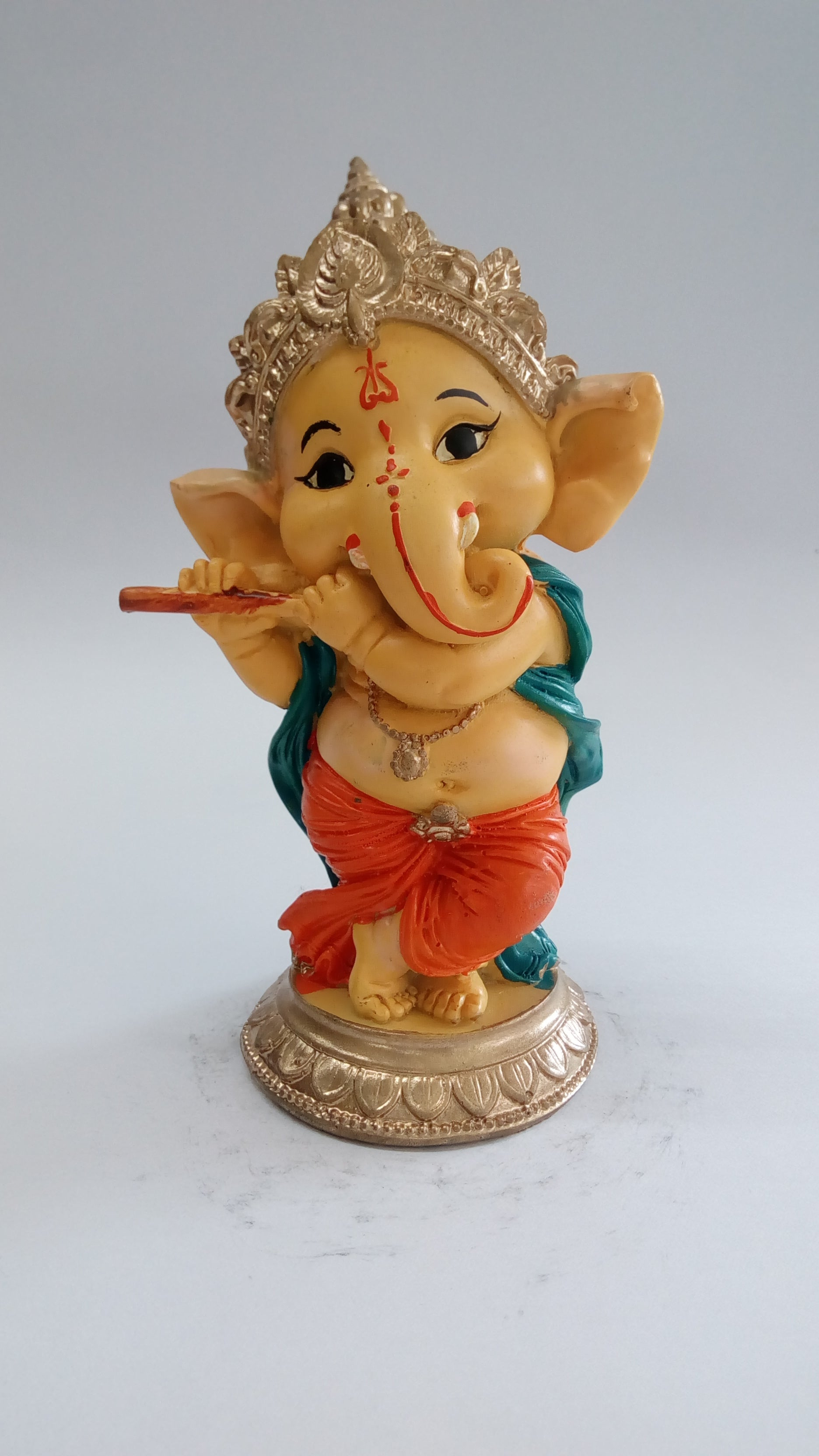 Buy Playing Flute Musician Ganesha SE0105-2aOnline