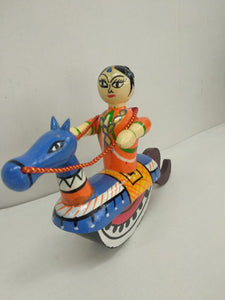 Buy Horse Rider Channapattana Toys (SEA011)Online