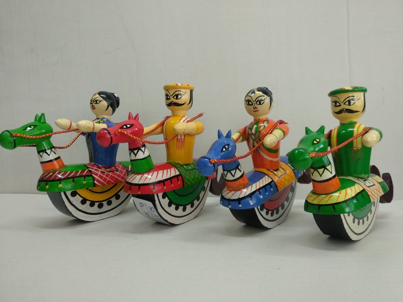 Buy Horse Rider Channapattana Toys (SEA011) Online