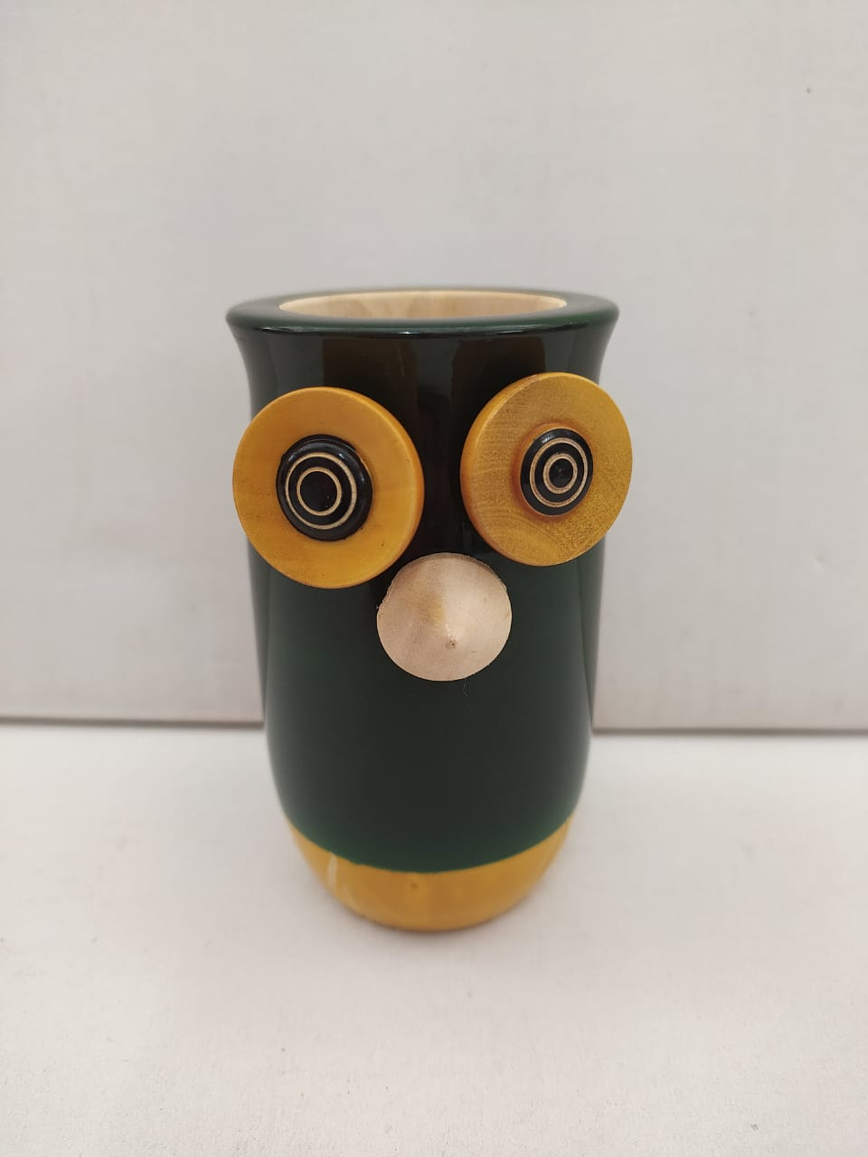 Buy Owl Pen Stand Chennapattana Toys (SEA016)Online