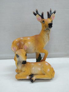 Buy Pair Of Deer In Natural Look (SP0235)Online