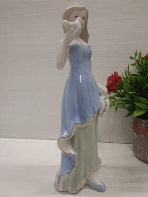 Buy Girl with bird showpiece DE75 Online