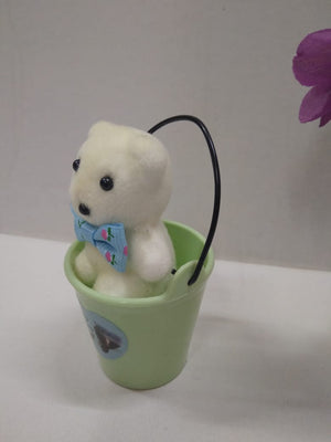 Cute teddy in bucket  CT75