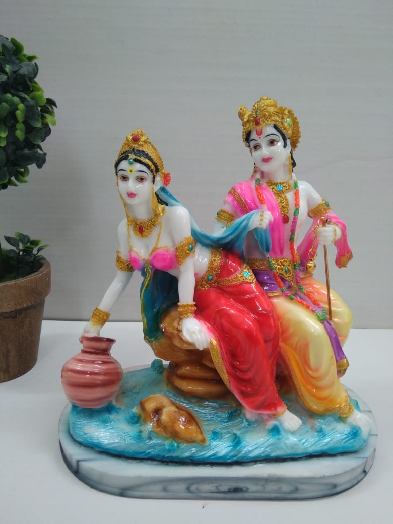Lovely radha krishna showpiece  SCS103