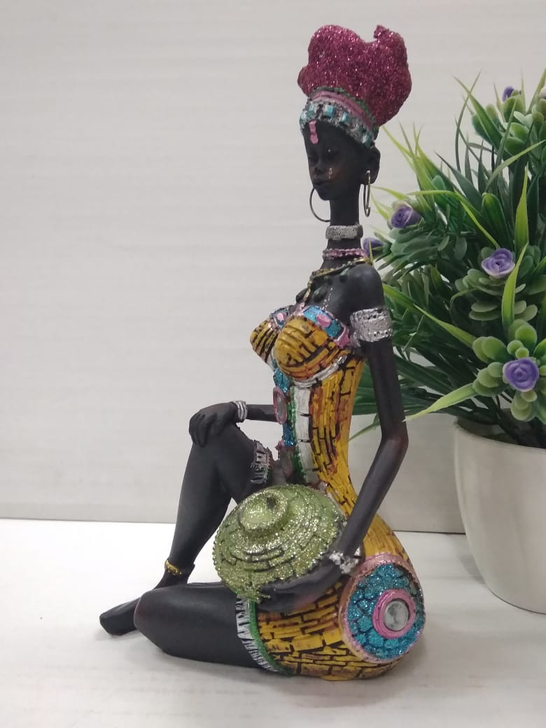 Buy African lady showpiece SPA0079  Online
