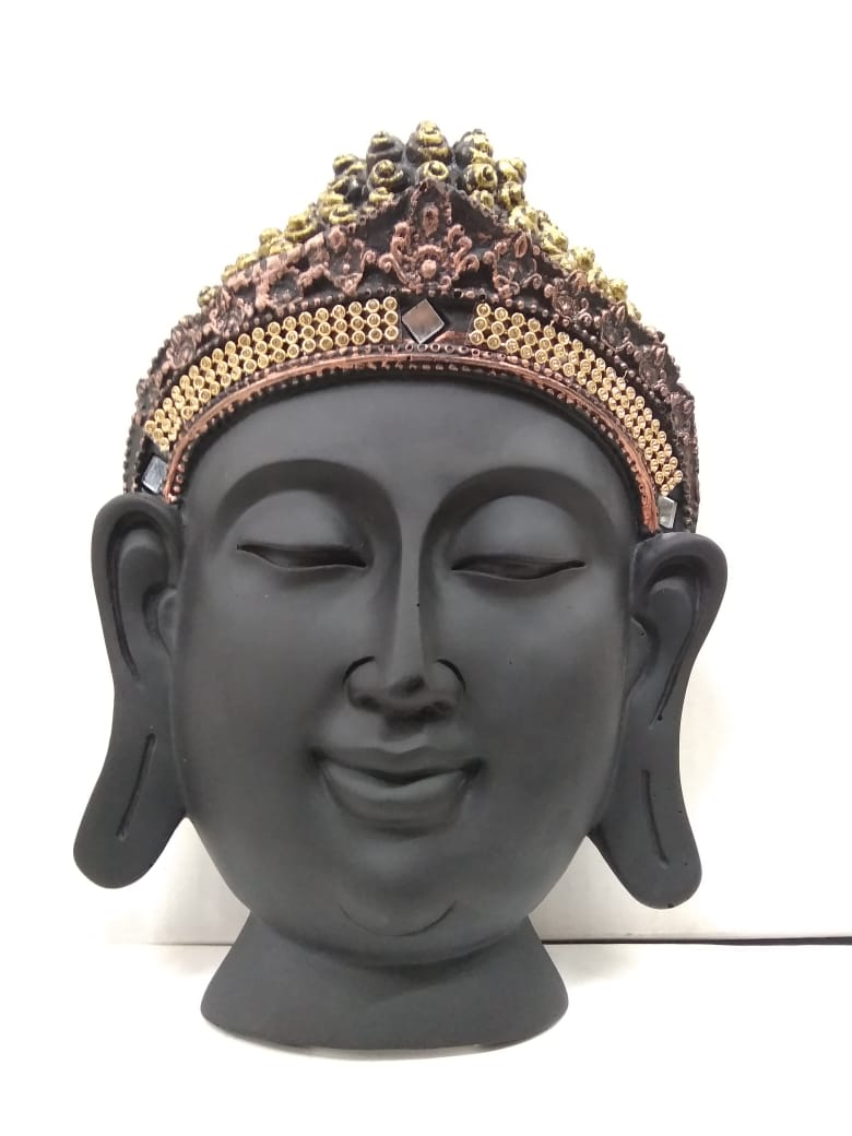 Buy Budha face wall hanging showpiece NY154   Online