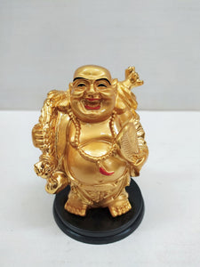 Buy Golden Laughing Budha for wealth and good luck NY66Online