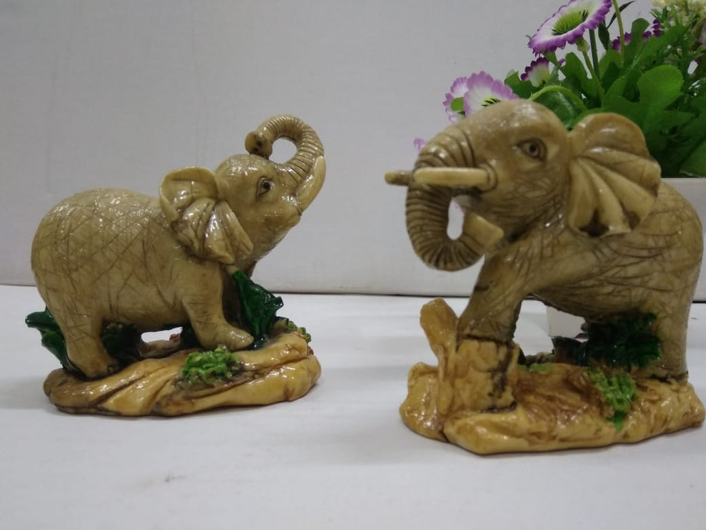 Buy Set of 2 small elephants   DE141  Online