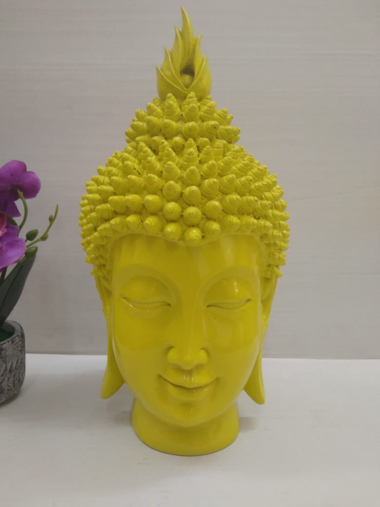 Buddha face in a contemporary style DLM89