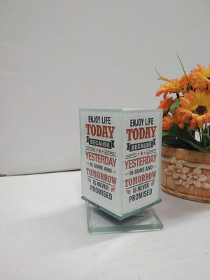 Buy Revolving Pen Stand with motivational quotes  SCS71    Online