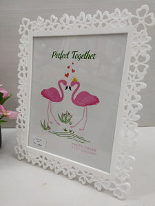 Buy Floral border designed photo frame NY71Online