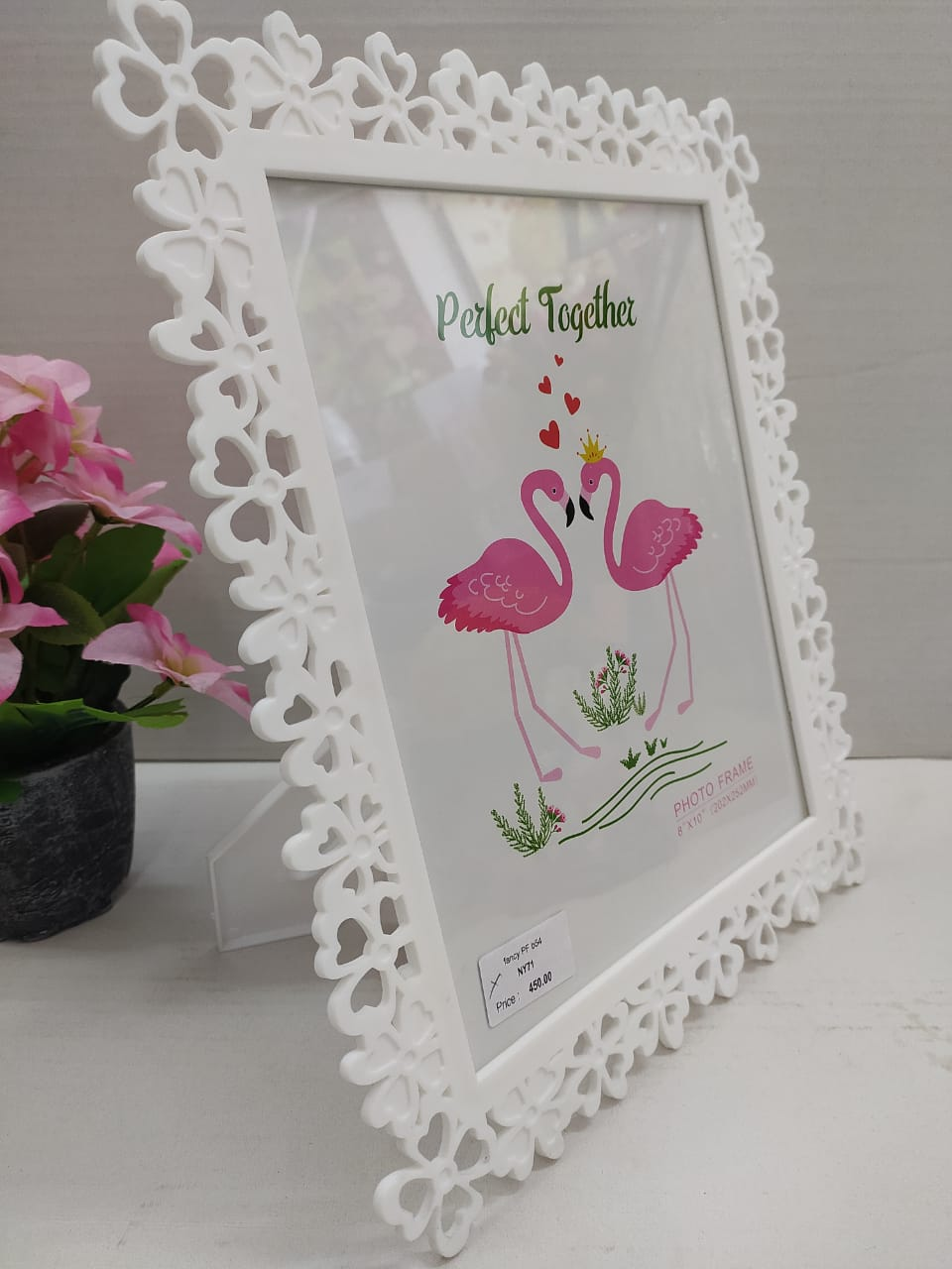 Buy Floral border designed photo frame NY71 Online