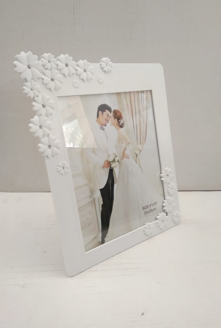 Buy Beautiful fancy Photo frame with floral design   NY 70 Online
