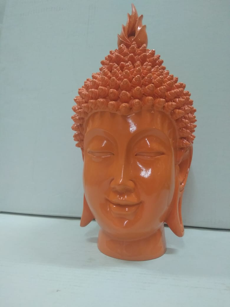 Beautiful vibrant coloured Budha face   DLM89