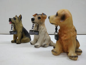 Buy Cute puppy dogs with welcome board   CT114Online