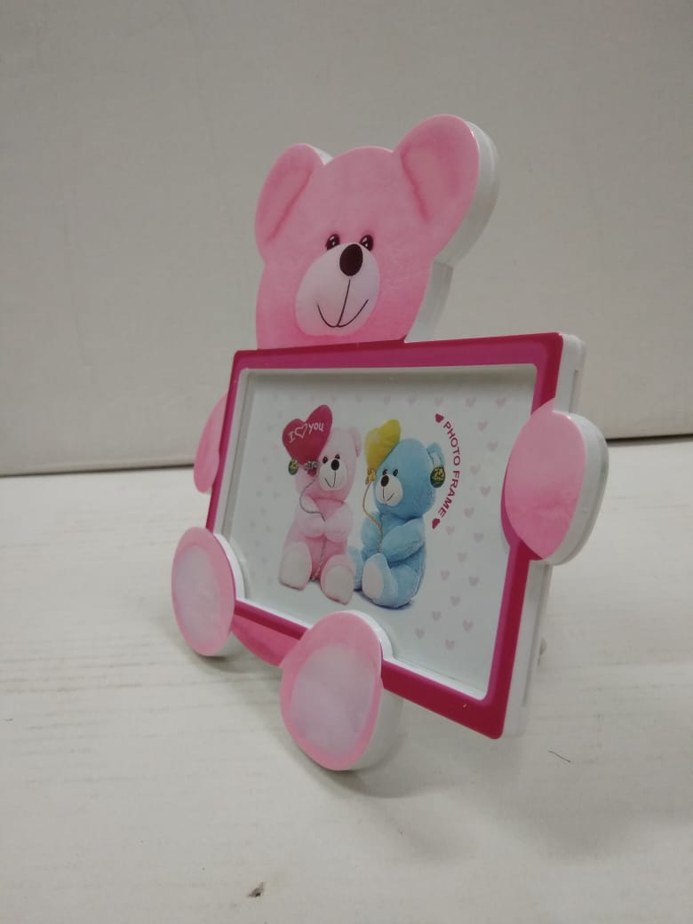 Buy Teddy shaped photo frame for kids JY070 Online