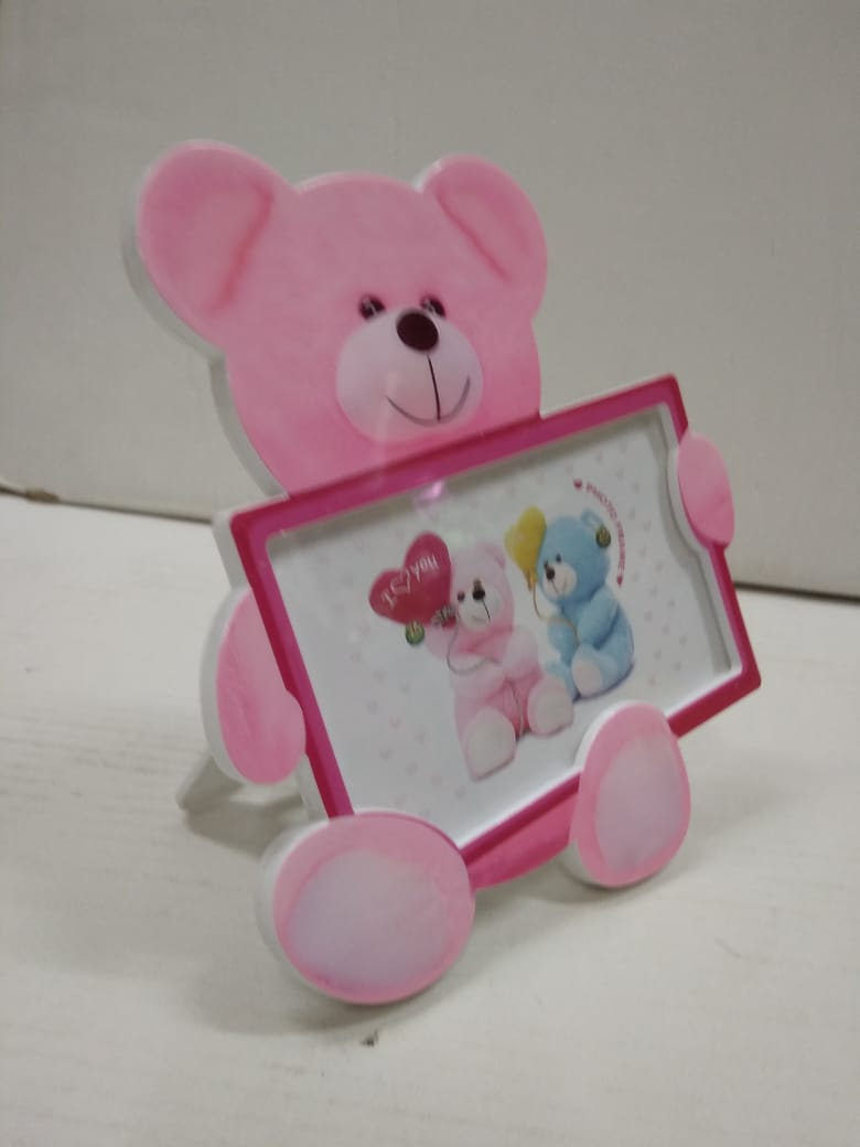 Teddy shaped photo frame for kids JY070