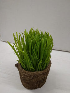 Artificial grass pot with natural look  DLM187