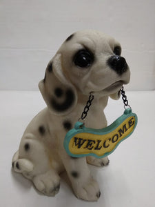 Buy Cute Dog with Welcome board  SR024,Online
