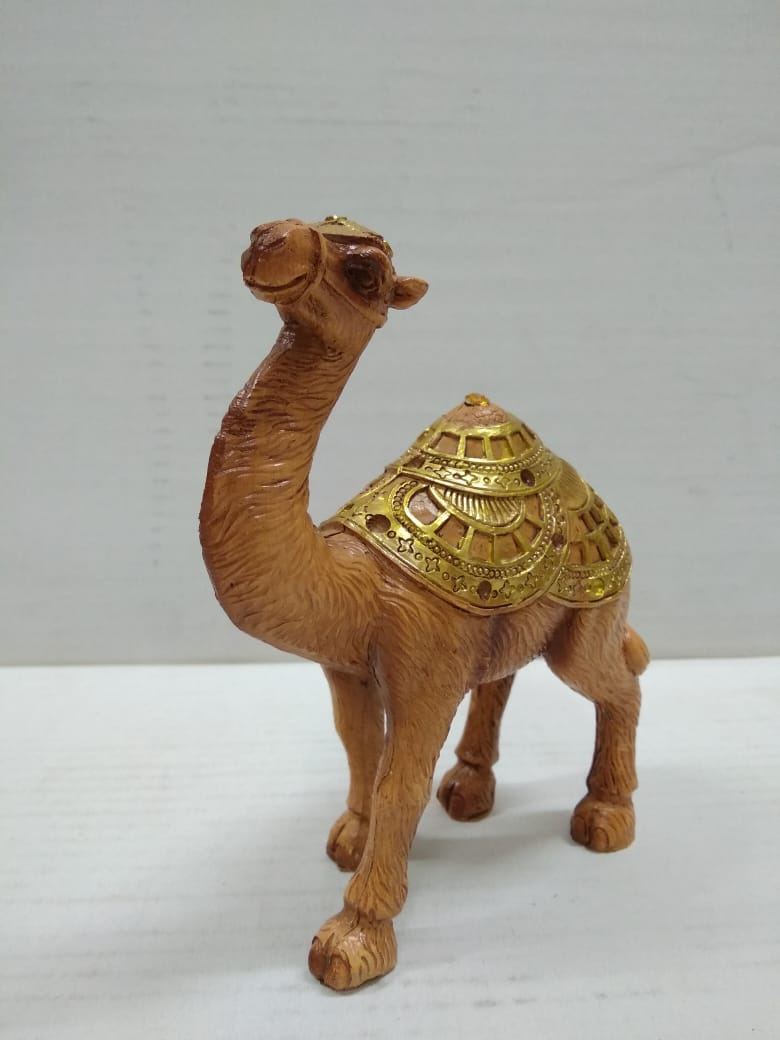 Camel In Gold With Natural Finish (F004)